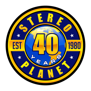 Stereo Planet, established 1980, 40 years of service