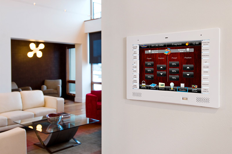 in-wall smart home control panel; benefits of a smart home