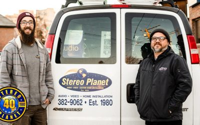 Stereo Planet Is Turning 40! Four Decades of Home Technology Service