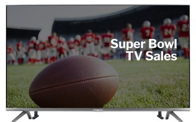 Take Advantage of Super Bowl TV Sales to Upgrade Your Home Entertainment System