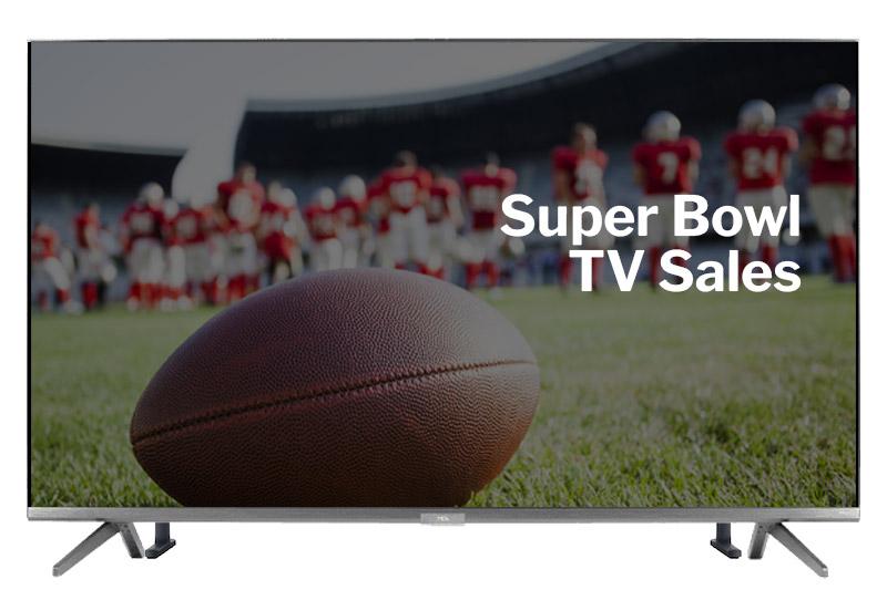 super bowl tv sales
